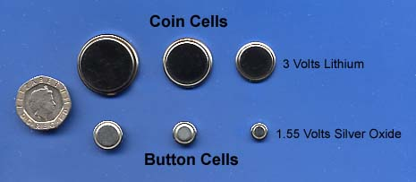 Button and Coin Cells