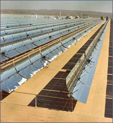 Parabolic Trough Solar Arrays