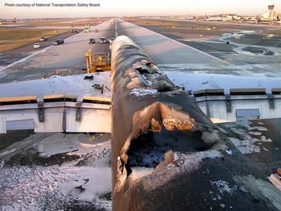 UPS Flight 1307 Lithium Fire